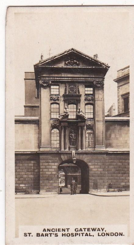 Cigarette Card  Westminster : British Royal & Ancient Buildings No. 30 St Barts
