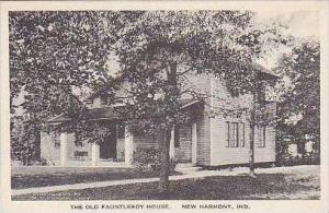 Indiana New Harmony The Old Fauntleroy House Albertype