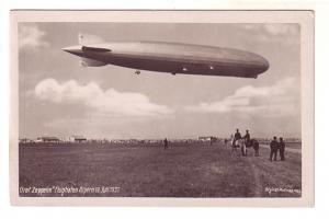 Graf Zeppelin, July 12, 1931