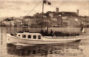 CPA CANNES - Service des Iles de Lérins par les vedettes (488409)