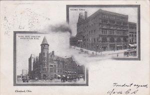 CLEVELAND, Ohio, 1900-1910's; Young Mens Christian Association Building, Maso...