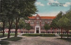 Michigan Greenville New Central School 1914