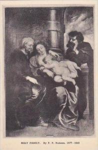 Vermont Bennington Holy Family Albertype