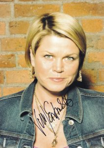 Vicky Entwistle Coronation Street Giant 10x8 Hand Signed Photo