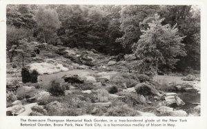 RP: BRONX PARK , New York, 30-40s; Thompson Memorial Rock Garden at NY Botanical