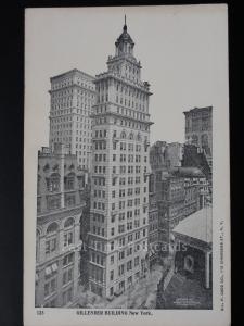 USA: NEW YORK CITY - Gillender Building c1905 UB