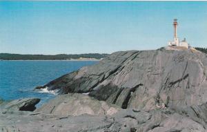 Lighthouse , Yarmouth , Nova Scotia , Canada , 1950-60s