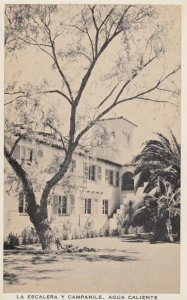 TIJUANA HOT SPRINGS , Mexico , 1920s; La Escalera Y Campanile, Hotel Agua Cal...