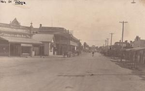 Tatura Victoria Australia Clothing Shop Antique Real Photo Postcard