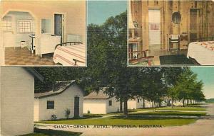 MT, Missoula, Montana, Shady Grove Autel, Multi View, E.B. Thomas No. E-12475