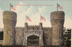Tennessee Chattanooga Entrance Gate Into Point Park Lookout Mountain