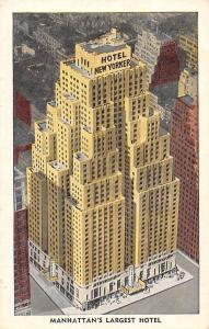 US N.Y. New York, Hotel New Yorker, Manhattan's Largest Hotel