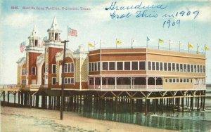 C-1910 Surf Bathing Pavilion Galveston Texas #8365 Postcard 10688