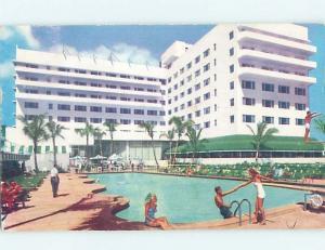 Pre-1980 SAN SOUCI HOTEL Miami Beach Florida FL H0792