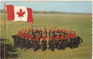 Royal Canadian Mounted Police  Nice vintage Canada postcard