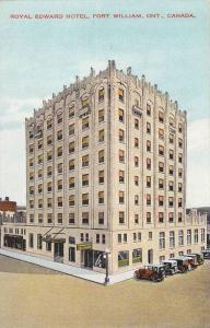 Exterior, Royal Edward Hotel,Fort William,Ontario,Canada,00-10s