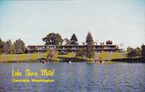 Washington Centrailia Lake Shore Motel 1981