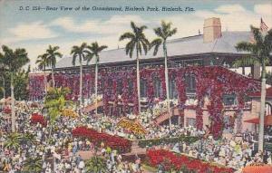 Florida Hialeah Rear View Of the Grandstand Hialeah Park