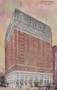 CHICAGO, Illinois, 1900-1910's; Hotel La Salle