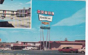 Texas Big Spring American Motor Inn Motel