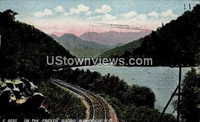 On the French Broad Asheville NC 1910
