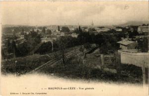 CPA BAGNOLS-sur-CEZE - Vue générale (459097)