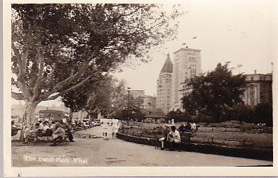 China - Shanghai - The Bund Park S'hai Real Photo Card