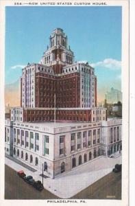 Pennsylvania Philadelphia United States Custom House