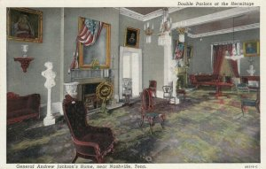 NASHVILLE, Tennessee, 30-40s; Double Parlors at the Hermitage
