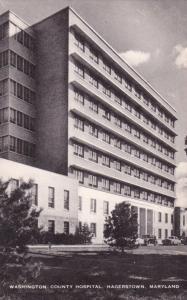 Washington County Hospital, HAGERSTOWN , Maryland, 1930-40s