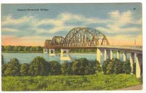 Liberty Memorial Bridge in North Dakota, 30-40s