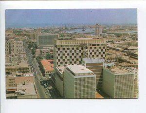 287712 PAKISTAN KARACHI aerial view Old photo postcard