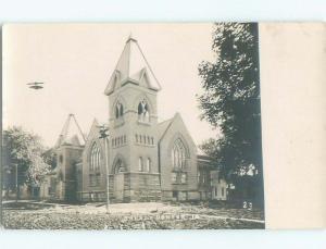 Pre-1918 rppc NICE VIEW Grundy Center - Near Waterloo & Marshalltown IA i9248