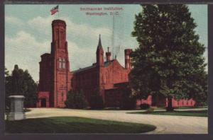 Smithsonian Institution Washington DC Postcard 4571