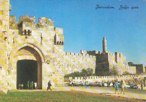 Israel Jerusalem Jaffa Gate and The Citadel