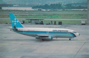 Boeing 737-2C3 Airplane , Cruzeiro airlines , Rio de Janeiro , Brazil , 60-80s