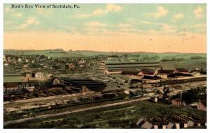Pennsylvania  Scottsdale ,  Aerial view