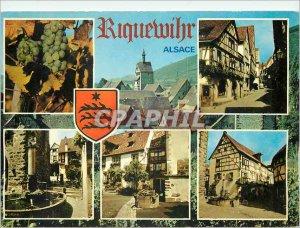 Modern Postcard Riquewihr Alsace