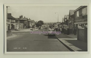 iw0048 - Isle of Wight - Lake Main Road by the Post Office, c1950/60s - postcard