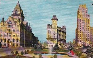 New York Syracuse Clinton Square 1957