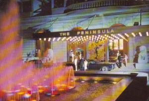 Hong Kong The Peninsula Hotel 1974