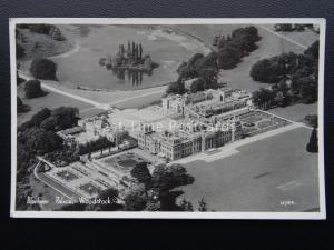 Oxfordshire WOODSTOCK Blenheim Palacel From The Air c1950's Postcard