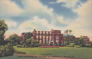 Olcott Theosophical Society Wheaton Illinois