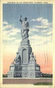 Monument to the Forefathers - Plymouth, Massachusetts MA