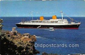 MS Europa North German Lloyd Ship 1967