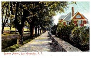 Rhode Island  East Greenwich  Spencer Avenue