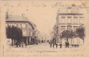 Grande Rue, Street View, Longwy (Meurthe-et-Moselle), France, PU-1900