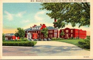 Ohio Mansfield General Hospital and Nurses' Home Curteich