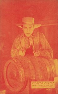 Cowboy Actor RICARDO CORTEZ, 30s-40s, # 2