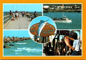 Texas Welcome To Port Aransas Fishing Capitol Of The Gulf Coast